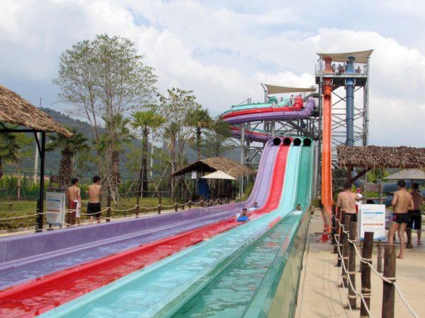 Аквапарк Рамаяна - Ramayana waterpark mat racer