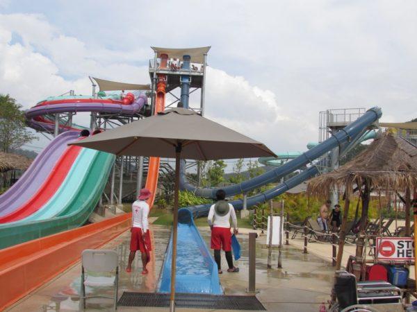Аквапарк Рамаяна - Ramayana waterpark aqua loop