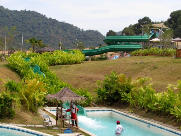 Аквапарк Рамаяна - Ramayana waterpark river slide
