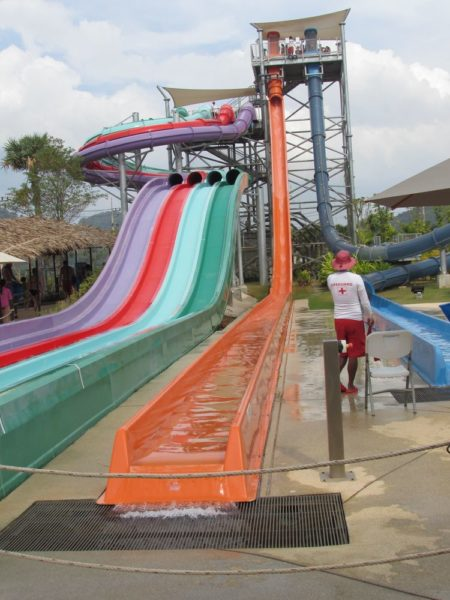 Аквапарк Рамаяна - Ramayana waterpark free fall