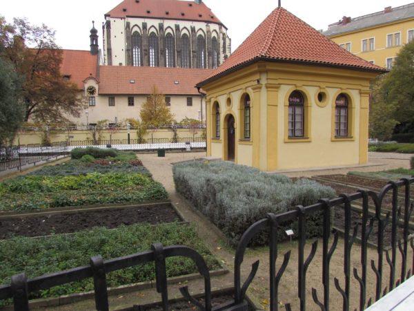 Францисканский сад в Праге