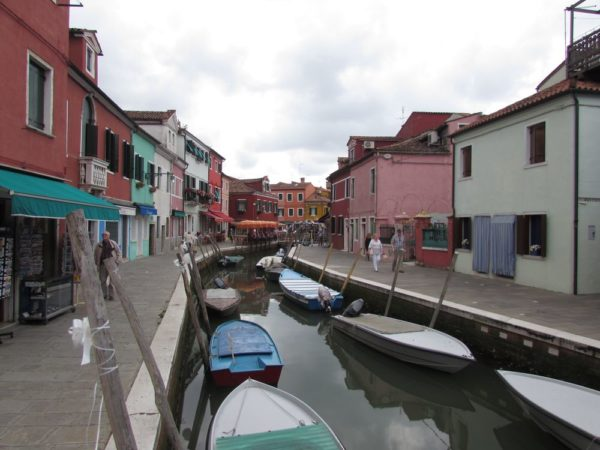 остров Бурано в Венеции