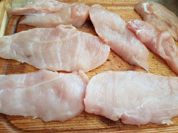 Куриное филе в пармезане