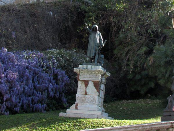 статуя Кола ди Риенцо капитолий