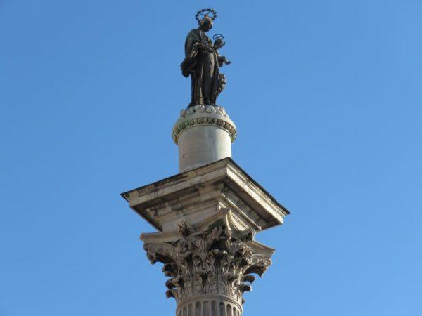 Эсквилин фонтан павла 5 санта мария маджоре