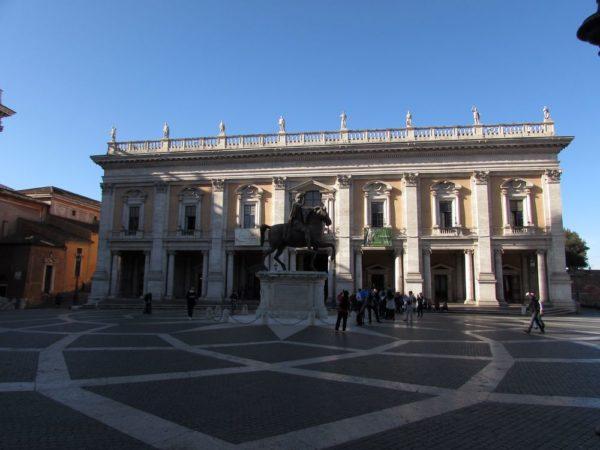 палаццо Консерватори (Palazzo dei Conservatori) капитолий