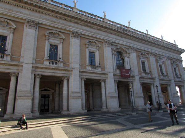 палаццо Нуово (Palazzo Nuovo) капитолий