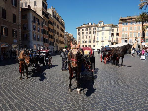 Площадь Испании (Piazza di Spagna)
