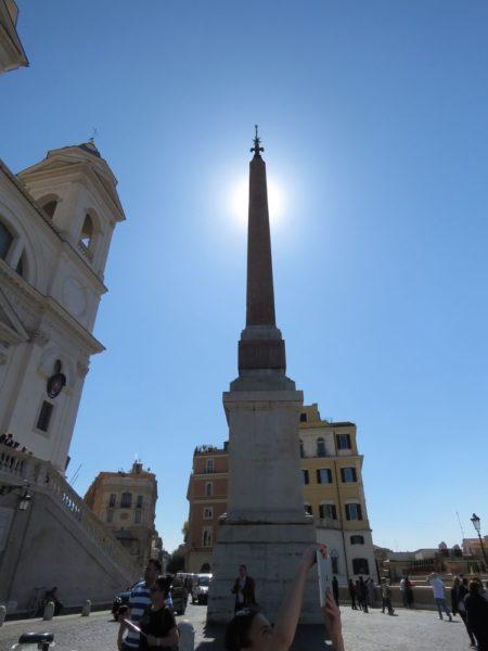 Церковь Тринита-деи-Монти обелиск тринита деи монти
