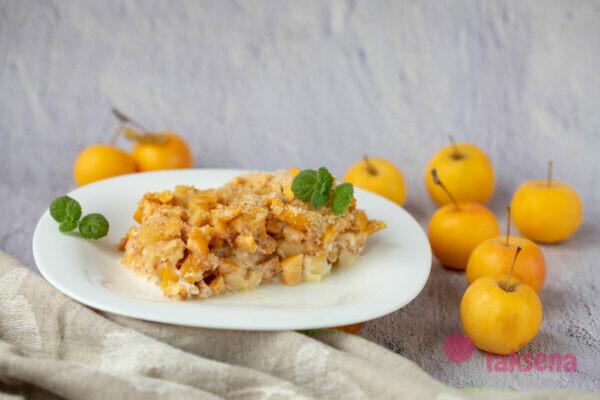 Яблоки запечённые с сыром