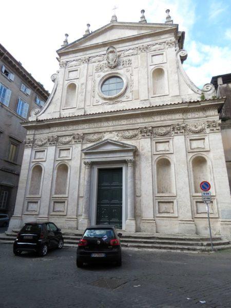 церковь Святой Екатерины Chiesa di Santa Caterina dei Funari