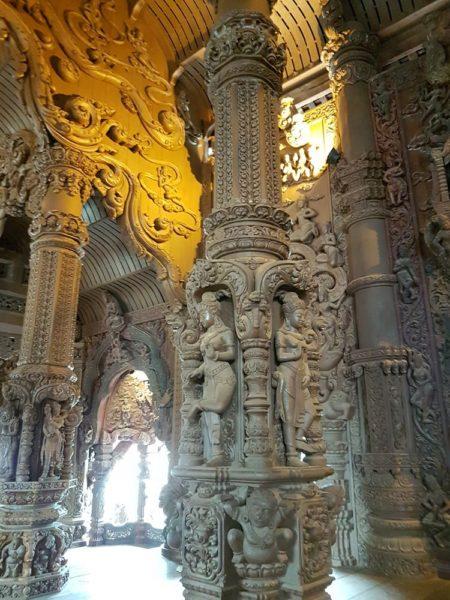 храм Истины в Паттайе (Sanctuary of Truth) китайский зал