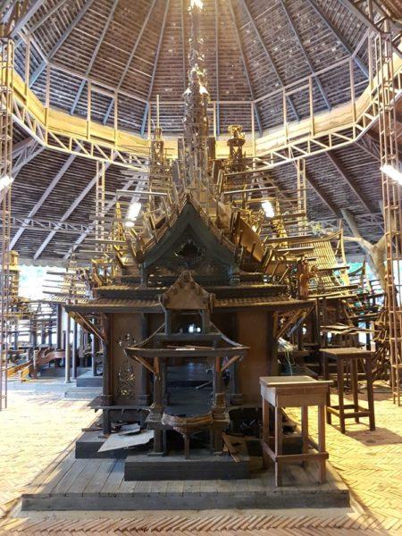 храм Истины в Паттайе (Sanctuary of Truth) мастерские