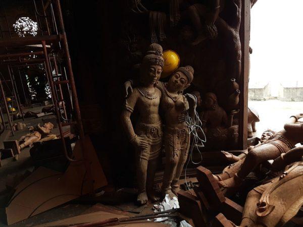 храм Истины в Паттайе (Sanctuary of Truth) тайский зал