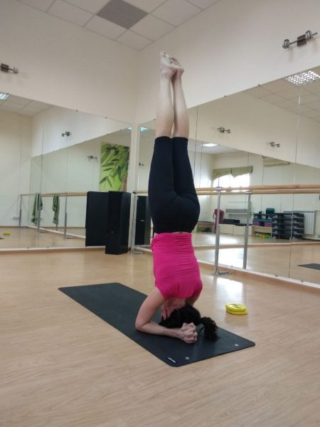Article about sport, Yoga: strength and flexibility