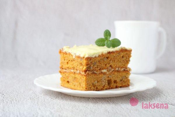 Английский морковный торт, или пирог