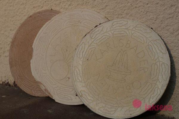 карловарские сувениры вафли оплатки