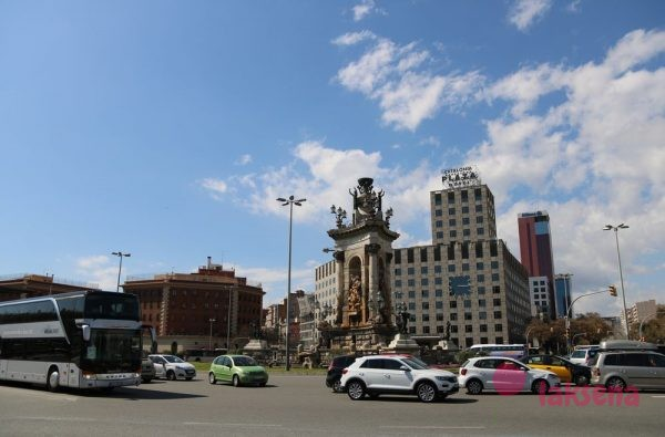 Испанская площадь в Барселоне