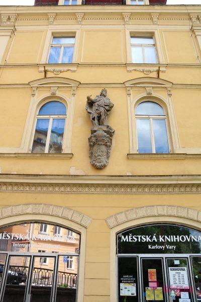 Скульптура Карла IV памятники в карловых варах