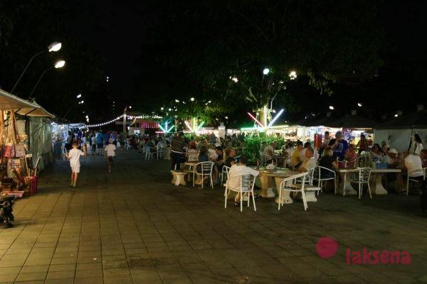 Рынок Паттайя парк - Pattaya Park Night market plaza