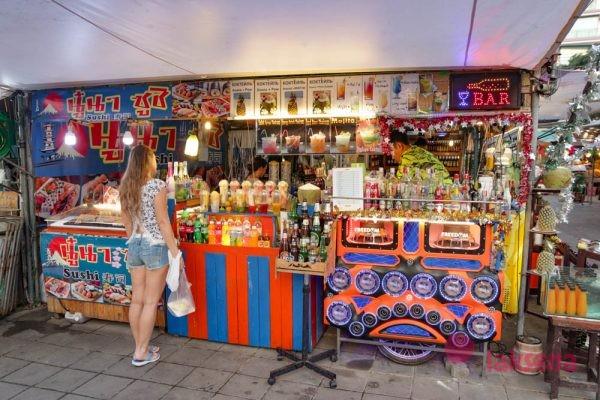 Рынок у отеля Паттайя парк - Pattaya Park Night market plaza