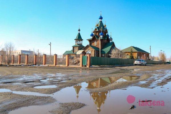Южноуральск Храм Покрова Пресвятой Богородицы