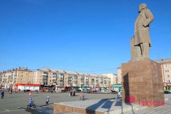 Южноуральск памятник Ленину В. И.