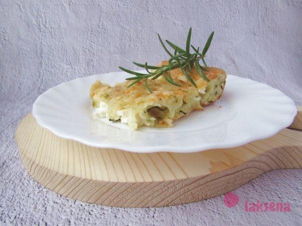 закусочный пирог с фетой и зеленью