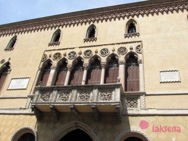 Палаццо Romanin Jacur падуя
