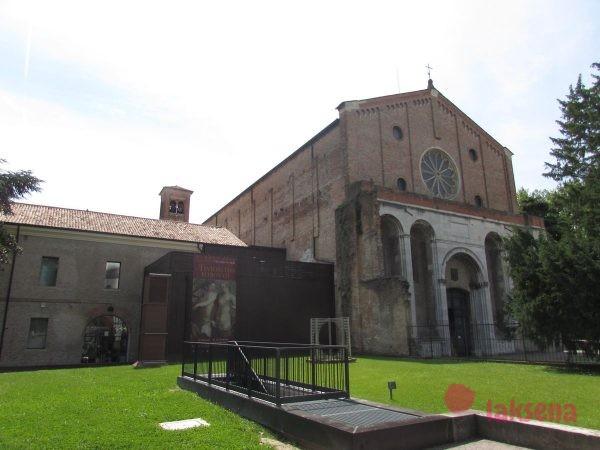 Церковь дельи Эремитани падуя