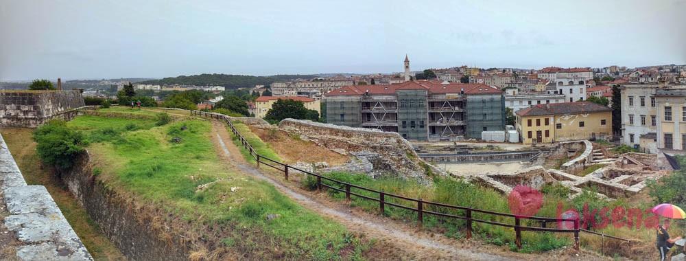 крепость каштел Пула