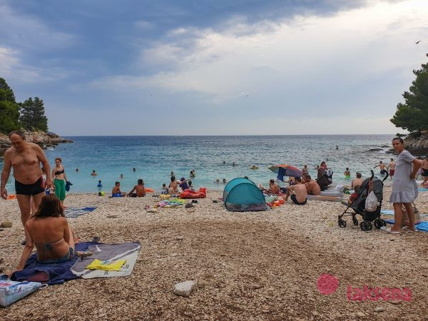 Пляж Гортанова Бухта (Gortan cove) пляжи пулы