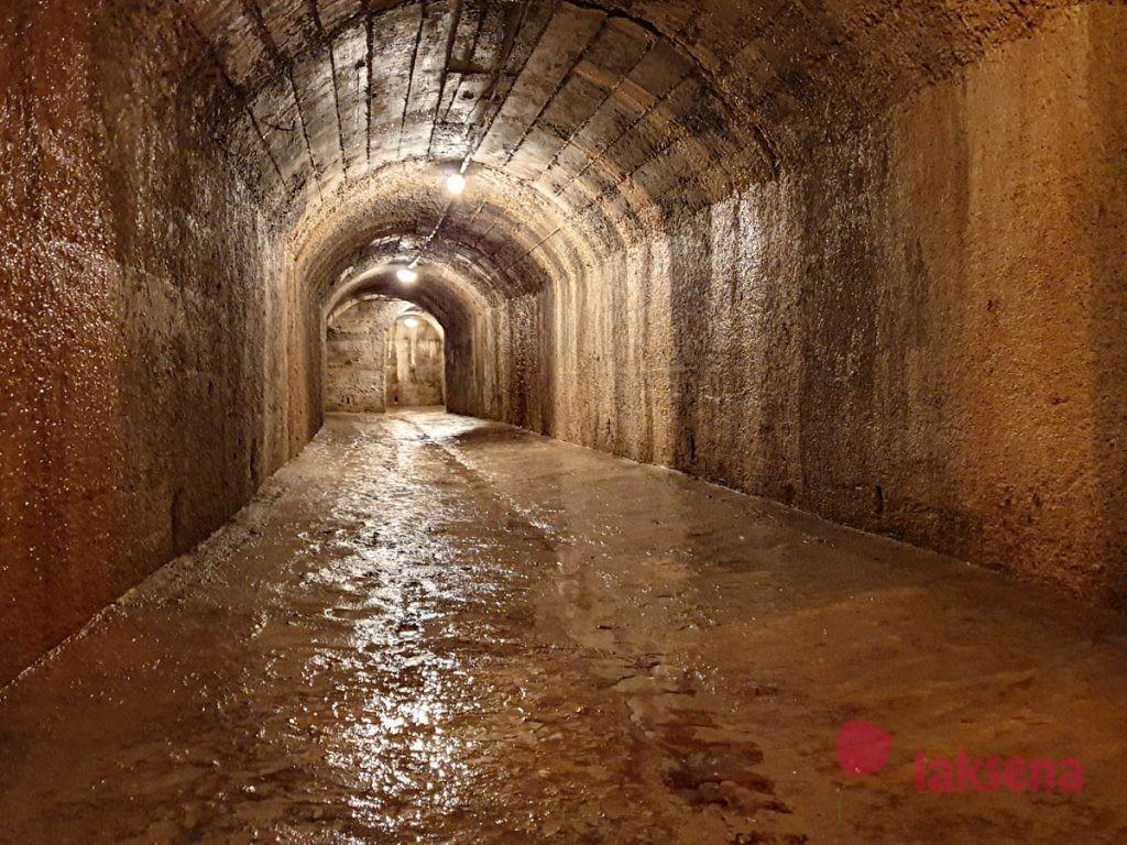 зероштрассе подземные тонели под пулой