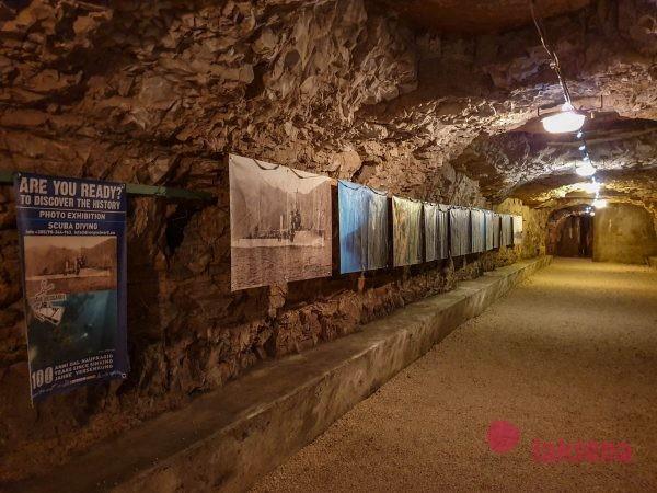 тоннели под Пудой каштелом