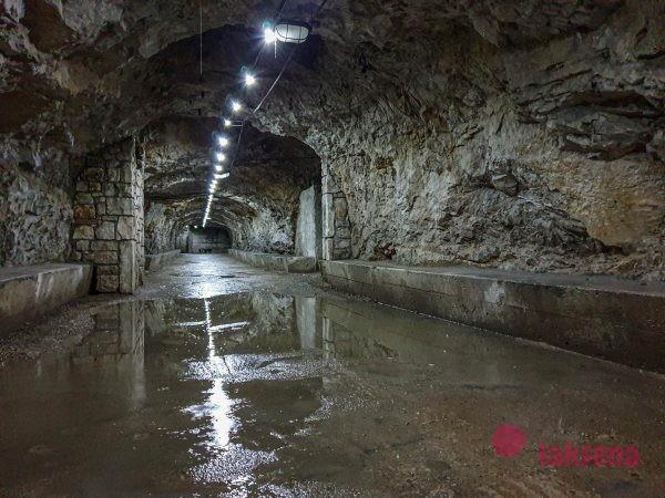 зероштрассе тоннель каштел пула
