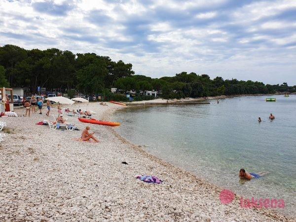 Пляжи Пулы Валовин Valovine