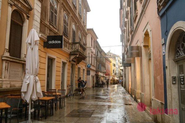 Улица Sergijevaca пула