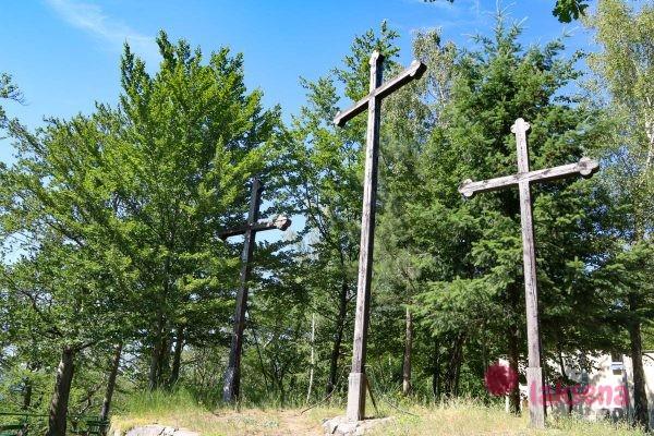 Смотровая площадка Три креста карловы вары