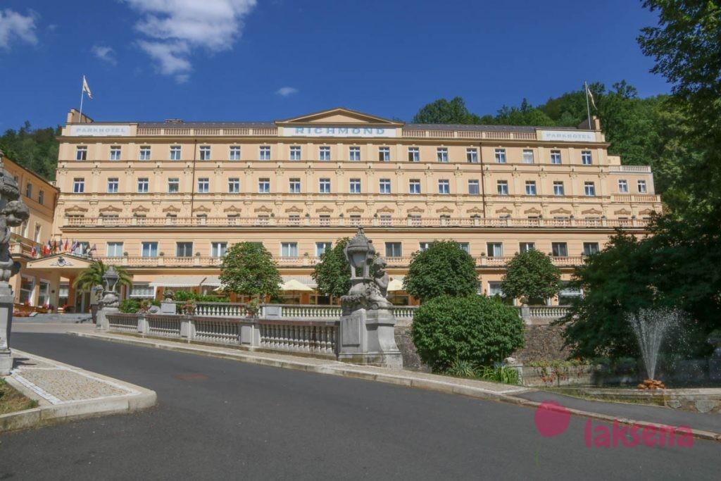 отель ричмонд японский сад