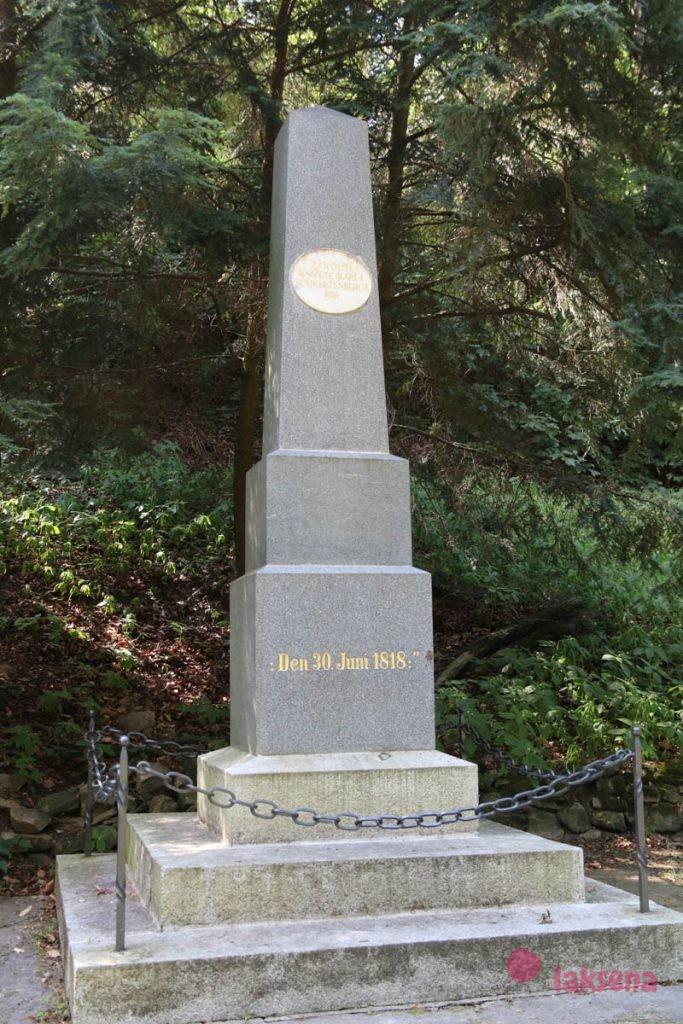 Памятник Карлу Шварценбергу карловы вары почтовый двор