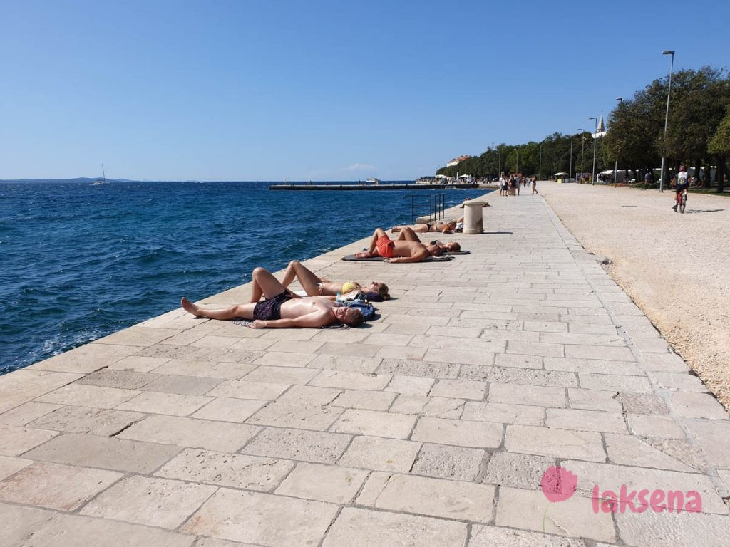 пляжи задара набережная