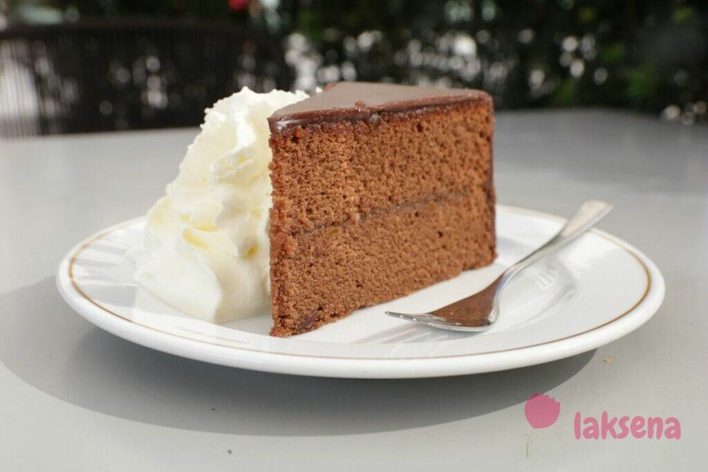 торт захер вена австрийские десерты