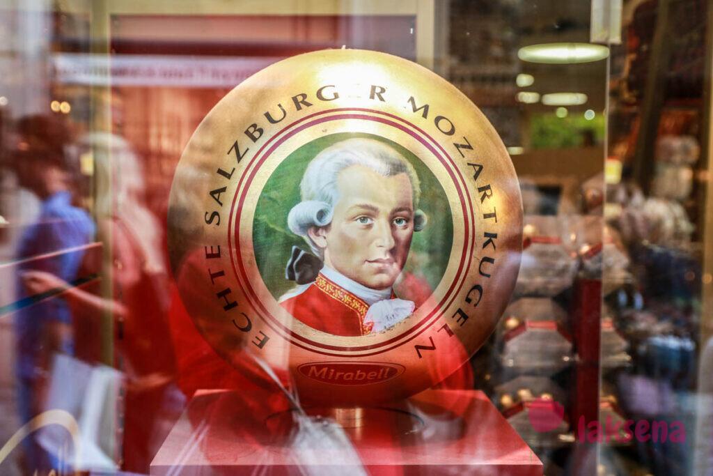 моцарткугель зальцбург австрийские сладости