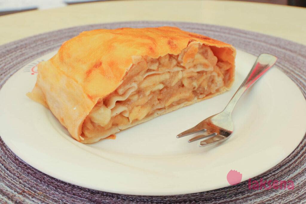яблочный штрудель австрийские десерты