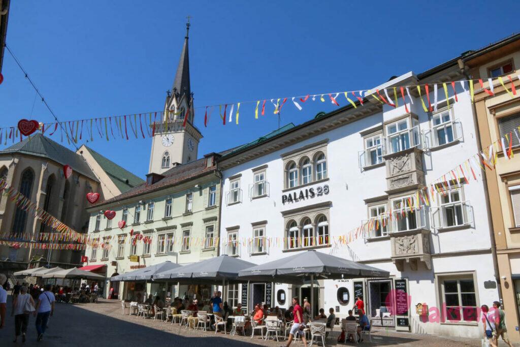 villach филлах австрия главная площадь Hauptplatz