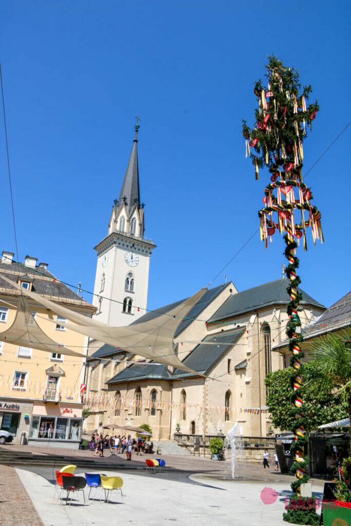villach филлах австрия Rathausplatz