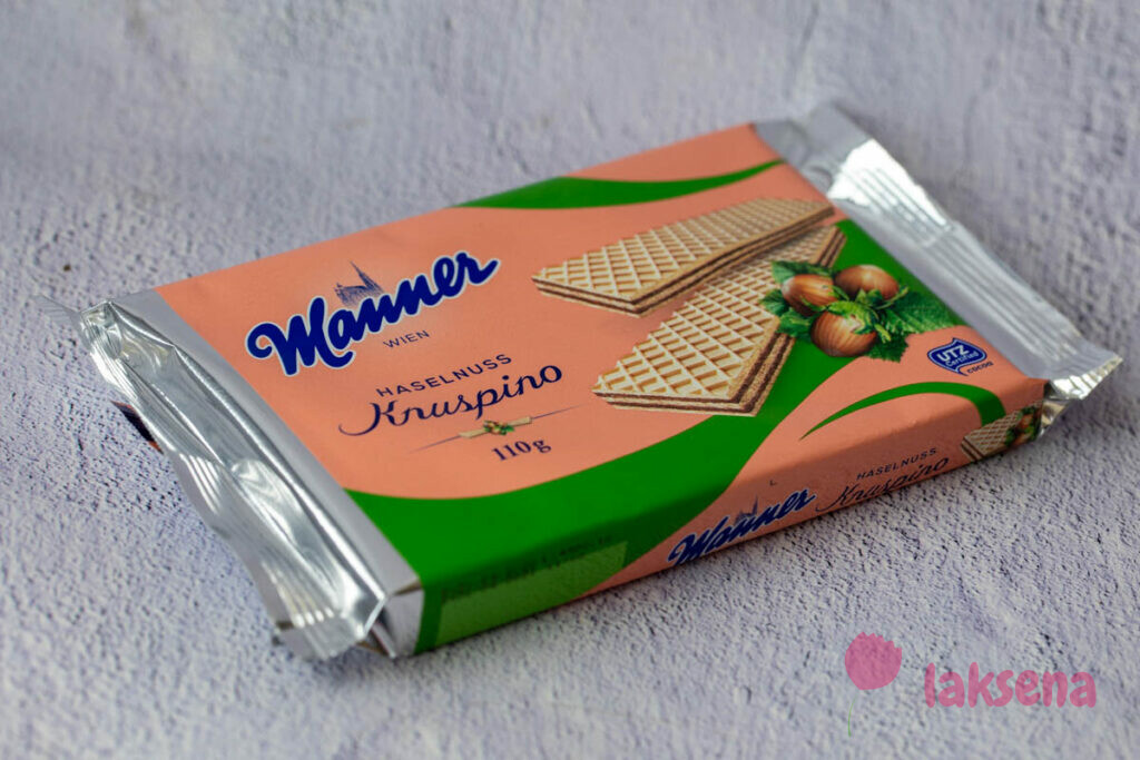 Вафли от компании Меннер (нем. «Wafer Manner») австрийские десерты